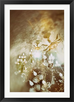 Framed Gold Print