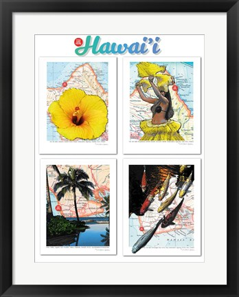 Framed Hawaii Print