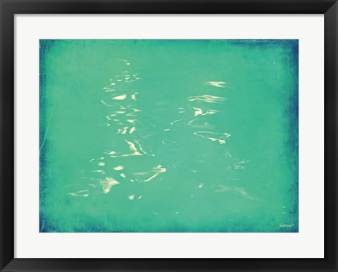 Framed Cool Water Print