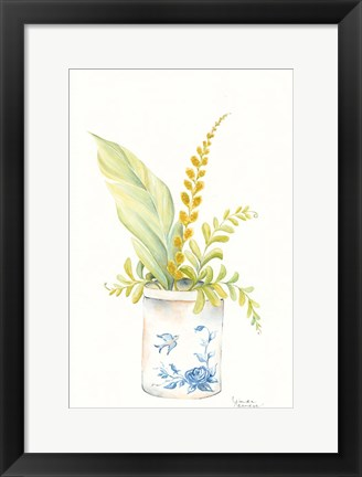 Framed Ferns of a Feather Print