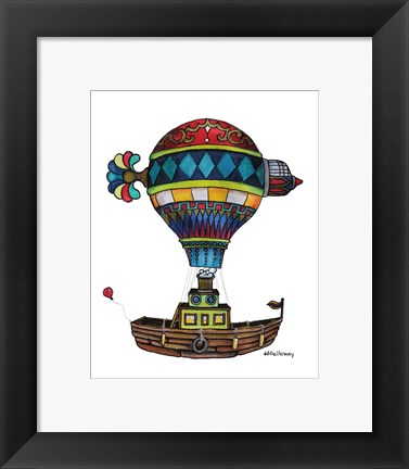 Framed When Houseboats Fly Print