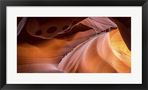 Framed Canyon Light Print