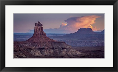 Framed Canyon Layers Print