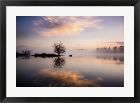 Framed Evening Reflections Print