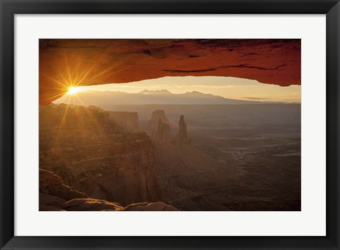 Framed Sunset at the Canyon Print