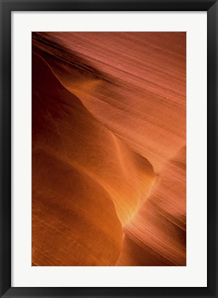 Framed Canyon Texture Print