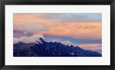 Framed MountainClouds Print