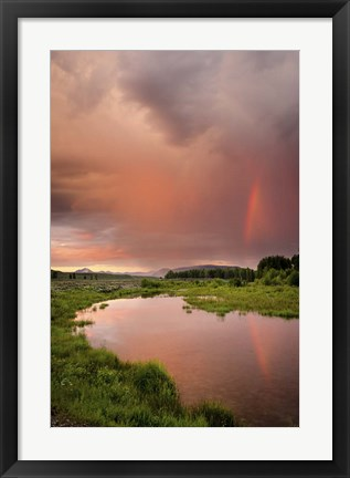 Framed Rainbow Reflection Print
