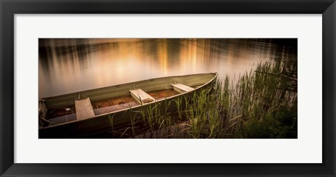 Framed Rowboat Print