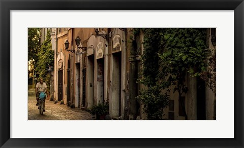 Framed Village Street Print