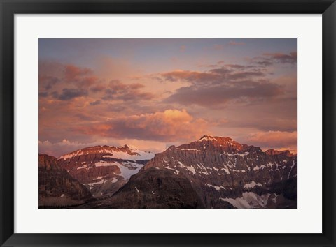 Framed Clouds over Mountains Print