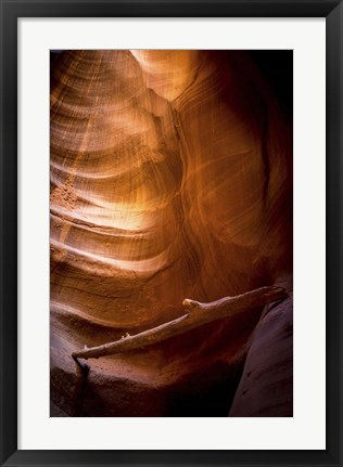 Framed Rock Formations Print