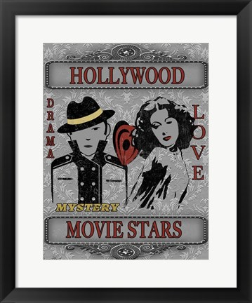 Framed Movie Night II Print