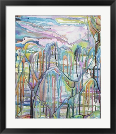 Framed High On the Mountain Tops Print