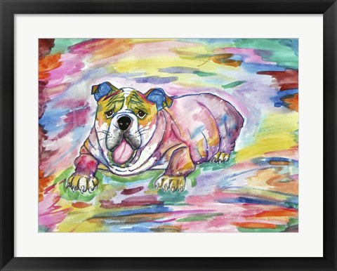 Framed Bully For You Print