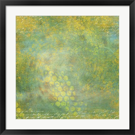 Framed Spotted Sunshine Print