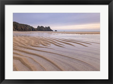 Framed Low Tide Print
