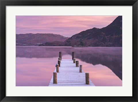 Framed Jetty Print