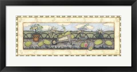 Framed Watermelons For Sale Print