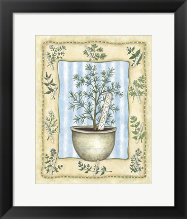 Framed Rosemary Print