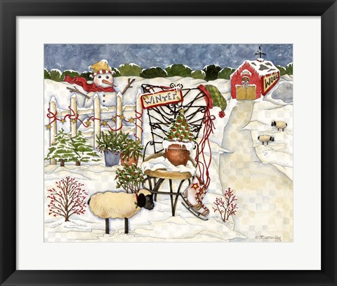 Framed Winter Print