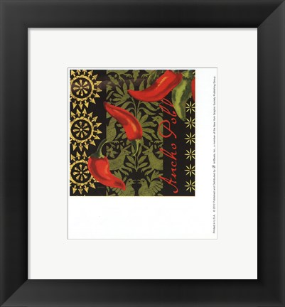 Framed Chiles Ancho Print