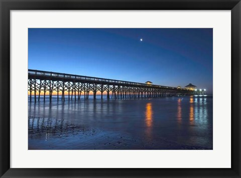 Framed Coastal Daybreak Print