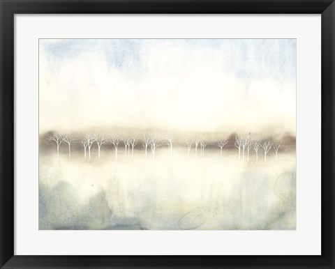 Framed Mid Morning Mist II Print