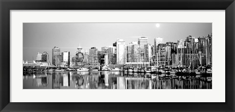 Framed Vancouver, British Columbia, Canada Print