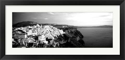Framed Santorini, Greece Print