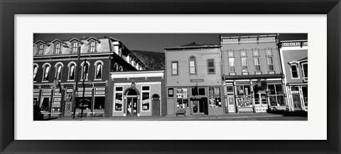 Framed Buildings in a town, Old Mining Town, Silverton, San Juan County, Colorado Print