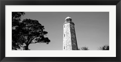 Framed Cape Henry Lighthouse, Cape Henry, Virginia Beach, Virginia Print