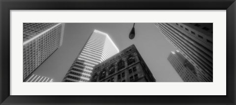 Framed Financial District San Francisco CA Print