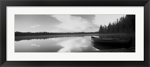 Framed Leigh Lake, Grand Teton Park, Wyoming Print