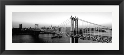 Framed Manhattan Bridge, NYC, NY Print
