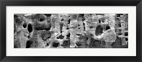 Framed Close-up of a rock, Capitol Reef National Park, Utah Print