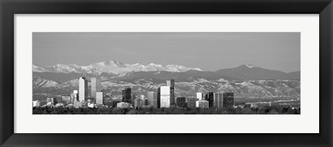 Framed Denver, Colorado Print
