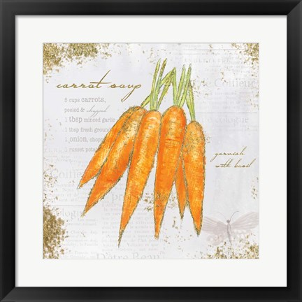 Framed Garden Treasures VIII Print