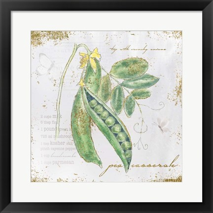 Framed Garden Treasures X Print