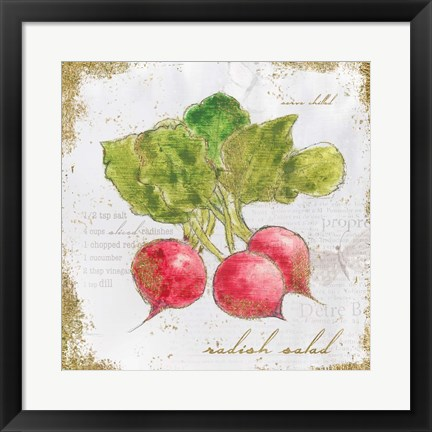 Framed Garden Treasures XII Print