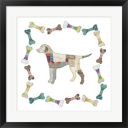 Framed Good Dog II Print