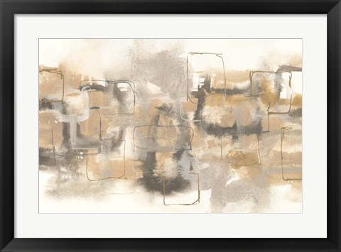 Framed Platinum Neutrals II Print