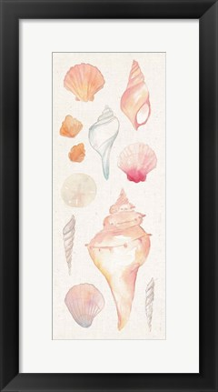 Framed Sea Gems II Print