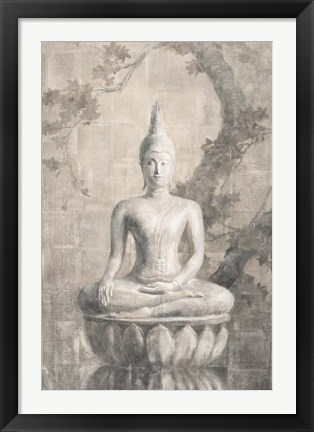 Framed Buddha Neutral Print