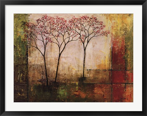 Framed Morning Luster II Print