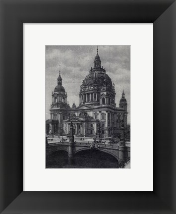 Framed Berlin Dome Print