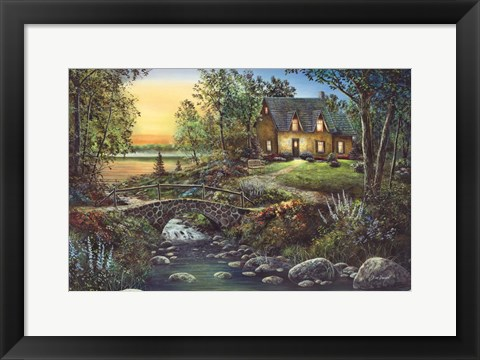 Framed Stonybrook Cottage Art By Jim Hansel At Framedart Com