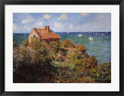 Fisherman S Cottage Painting By Claude Monet At Framedart Com