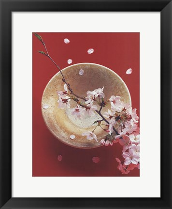 Framed Blooming Bowl Print
