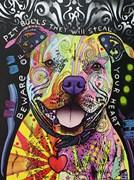 Beware of Pitbulls Artist Proof 7/25
